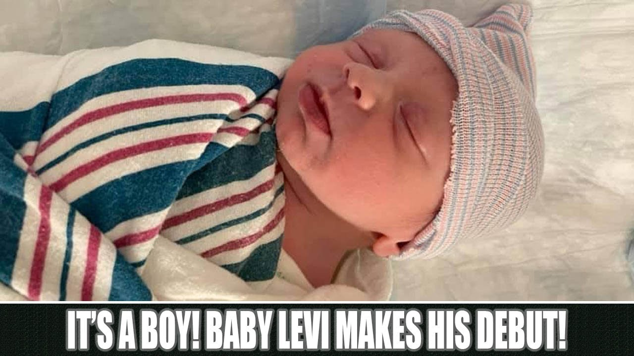 It's a Boy! Baby Levi Makes His Debut!