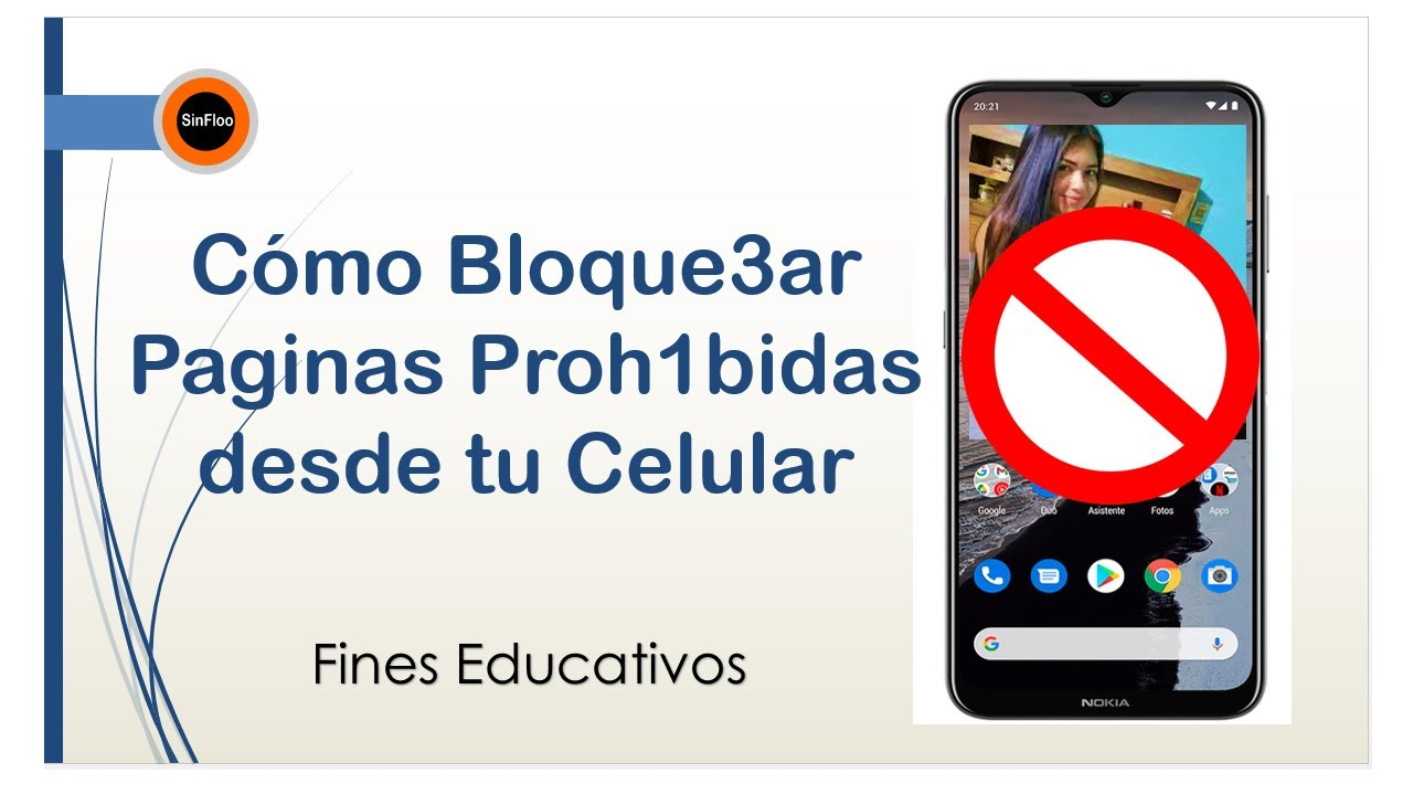 Como Bloquear Paginas De Internet Para Adultos En Celular Youtube