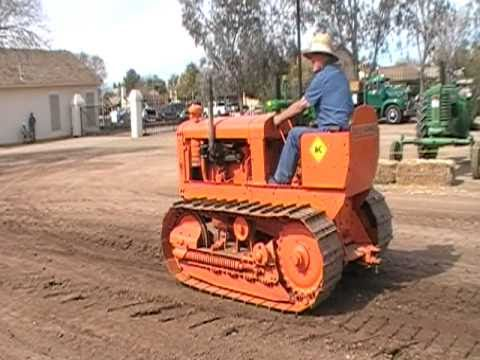 Allis-Chalmers M Crawler At Glendale, Arizona 2-13-11