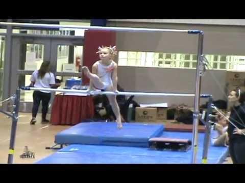 Gymnastics Usag Level Bar Beam And Floor Routine Sophia Youtube