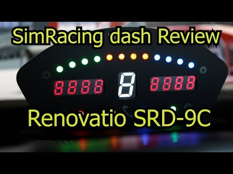 simracing dashboard review renovatio srd 9c