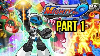 Mighty No. 9 Gameplay Walkthrough Part 1 - INTRO - MISSION 1 & 2