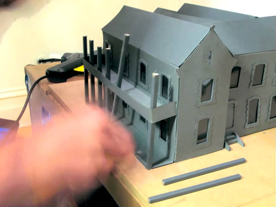 Elementary Classroom Playlist ~ Time lapse of model making school building complete