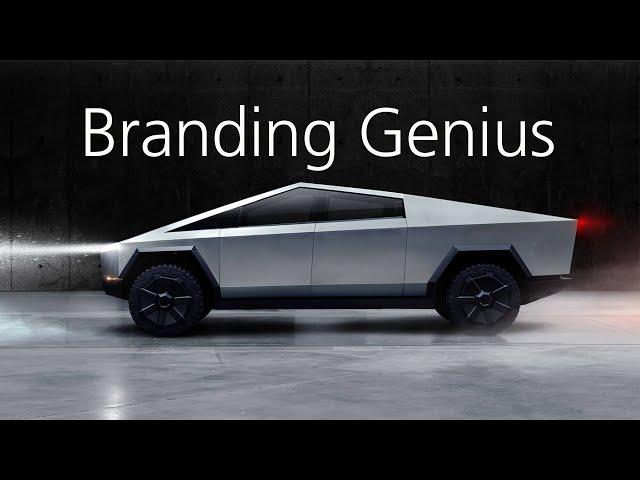 Tesla's Cybertruck is a Branding Masterstroke