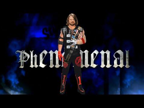 WWE AJ Styles Theme - Phenomenal + Arena & Crowd Effect! w/DL Links!