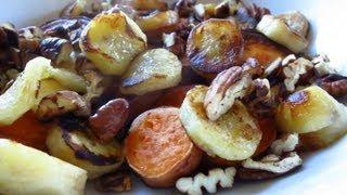 Sweet Potato, Fried Banana, Toasted Pecan Breakfast Recipe