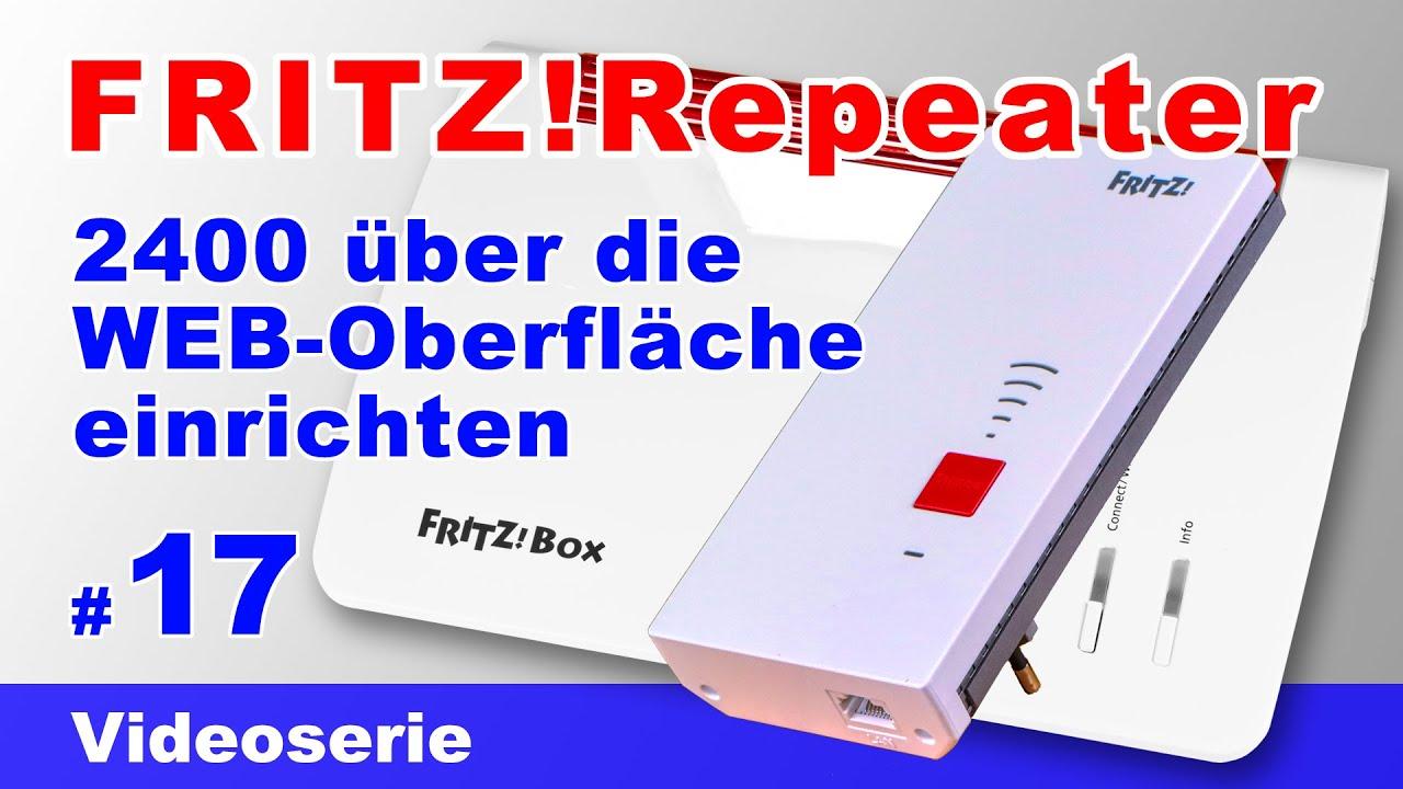 FRITZRepeater 20   WEB Oberfläche   einrichten, konfigurieren & mit  FRITZBox 20 verbinden 20