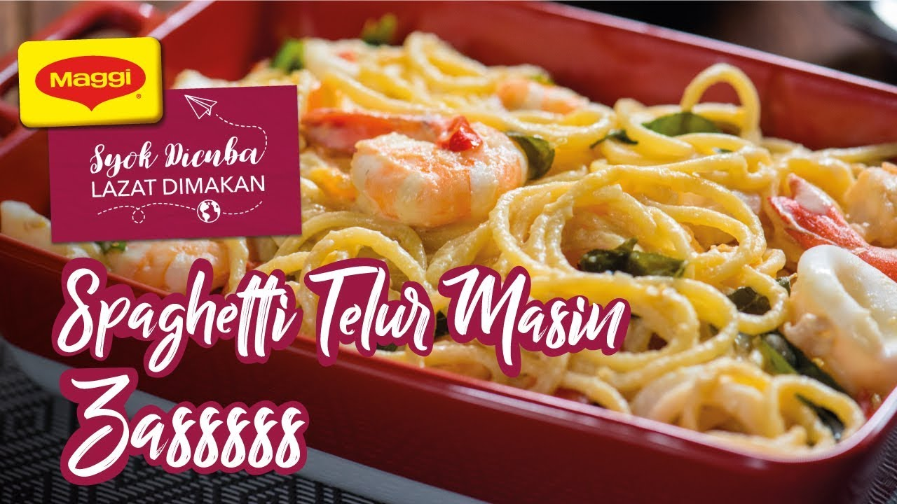 Spaghetti Telur Masin Zasssss Youtube