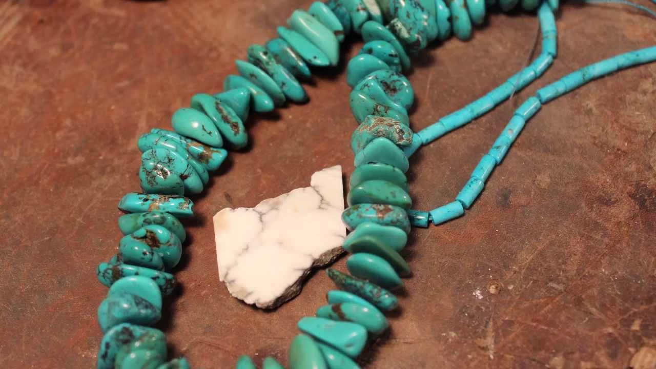 24335145f869 Fake Turquoise Jewelry - YouTube