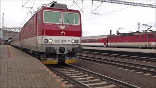 Vlaky v stanici Poprad - Tatry + parádne pozdravy