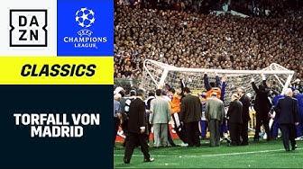 Der Torfall von Madrid | UEFA Champions League | DAZN Classics