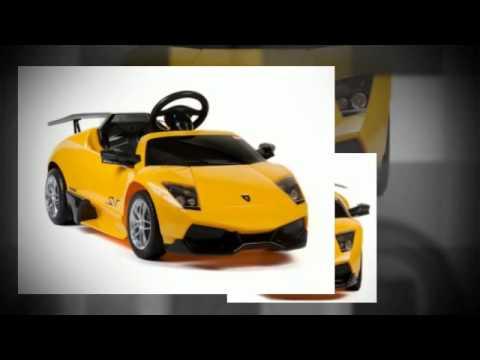voiture electrique lamborghini pour enfant youtube
