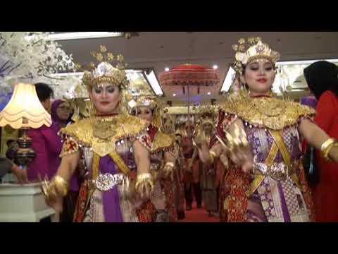 Resepsi Adat Palembang Pernikahan Novia & Iqbal