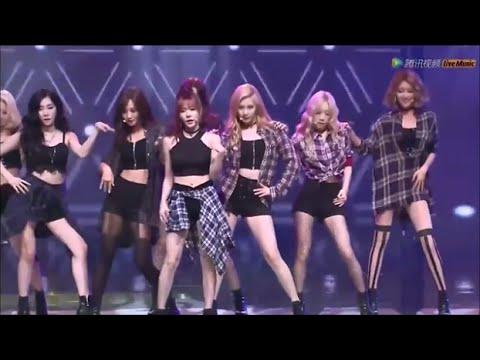 [HD] 150831 [SNSD] / Check - Tencent K-POP LIve Music