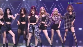 [HD] 150831 [SNSD] / Check - Tencent K-POP LIve Music