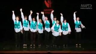 Еврейский танец 7-40 школа танцев МАРТЭ 2011(Отчётный концерт МАРТЭ 2011 www.marte.ru., 2011-06-25T20:44:22.000Z)