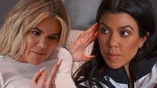 Khloe SNAPS & Calls Kourtney Kardashian DESPERATE For FLIRTING With French Montana!