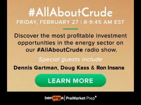 Dennis Gatman & Ron Insana - #PreMarket Prep's #AllAboutCrude Show February 27, 2015