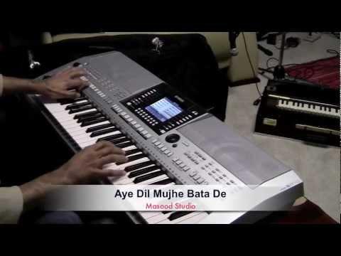 Aye Dil Mujhe Bata De instrumental