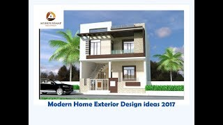 Modern Home Exterior Design Ideas 2017 | Top 10 House Design Ideas