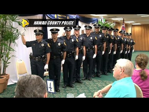 Hawaii County Police Recruits