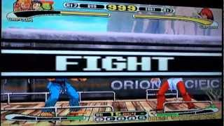 Capcom v.s SNK Gameplay Video on Dreamcast.