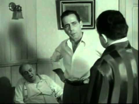Humphrey Bogart Blooper in Key Largo 1948