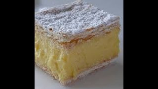 Vanilla Slice Recipe