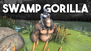 ARK Survival Evolved Gameplay :: Swamp Gorilla