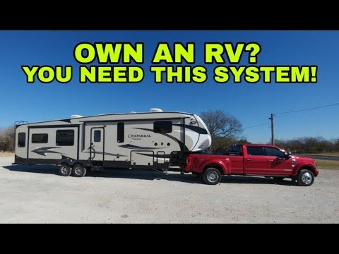 ALL RV OWNERS NEED THIS! Fifth Wheel And F450 Gets The TireMinder System
