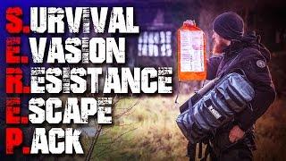SEREP - S.E.R.E.P 2.0 Rucksack K-ISOM - Review Test (german/deutsch) Fluchtrucksack Outdoor EDC