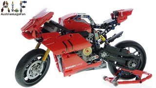 LEGO Technic 42107 Ducati Panigale V4 R - Lego Speed Build Review