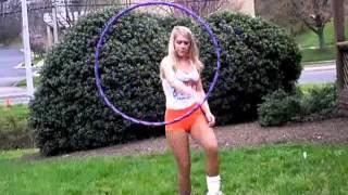 Hooters Girl Hula Hooper - Unbelievable