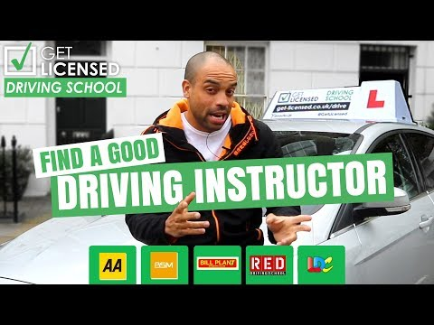 How To Find A Good Driving Instructor Near You