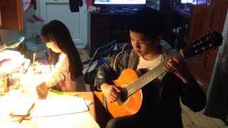 Ngày xưa ơi ! Guitar solo ( mới học đàn )