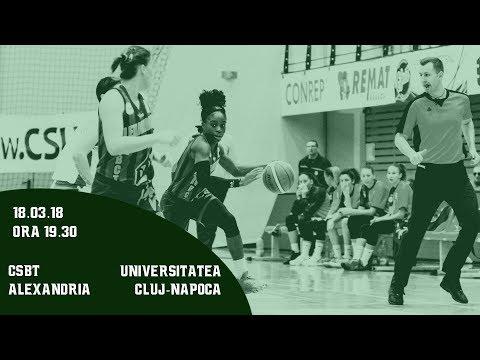LNBF 2017-2018: CSBT Alexandria - Universitatea Cluj-Napoca