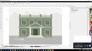 CorelDraw Tutorial: Draw a Flat Bank Builder
