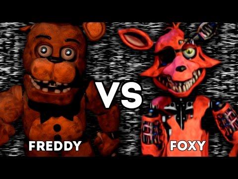 ФОКСИ ПРОТИВ ВСЕХ АНИМАТРОНИКОВ - FFAF | FNAF | Five Fight At Freddy's | ФЛЕШ ИГРА