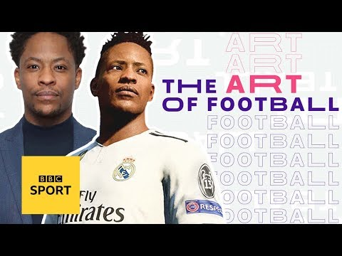 The fictional footballer: Being the face of a Fifa's Alex Hunter - BBC Sport