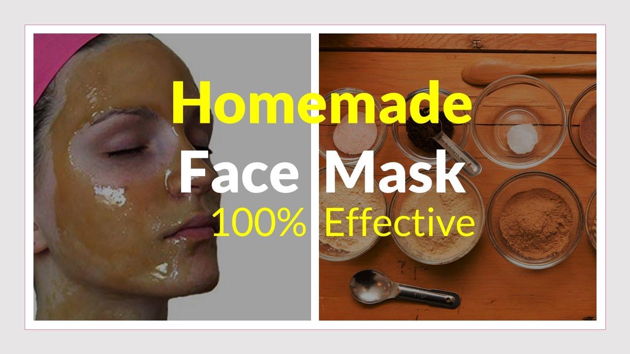 Homemade Skin Lightning Face Pack Mask