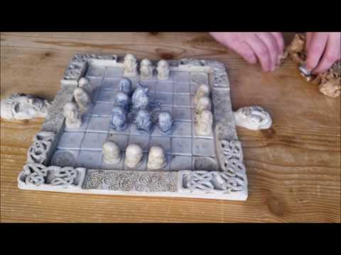 Celtic Chess Set The Game Of Fidchell