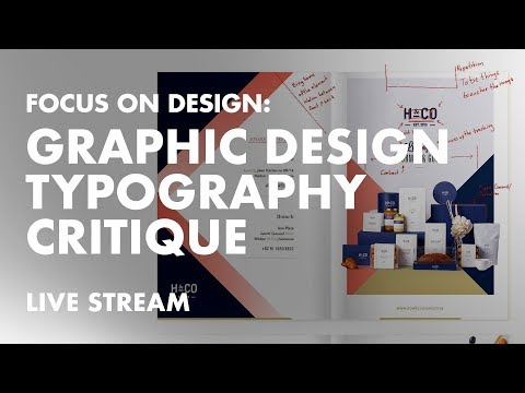 Graphic Design Typography Critique for Multi-page Gourmet Goods Brochure