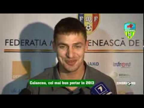Nicolai Calancea (INTERVIEW) Laureates of moldovan football, ceremony (15.12.13) Gala FMF 2013