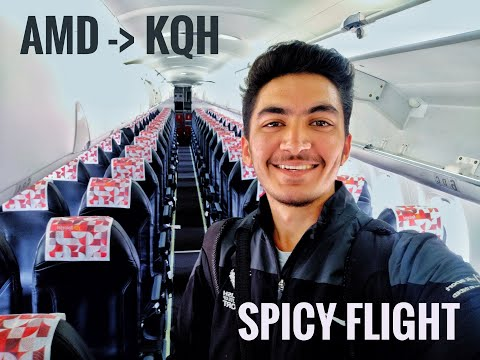 FLIGHT REVIEW : Ahmedabad to Kishangarh on SPICEJET Dash 8 : All you need to know !!