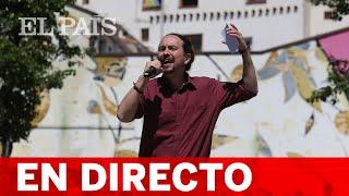 DIRECTO #4M   IGLESIAS presenta el PROGRAMA de PODEMOS en MADRID