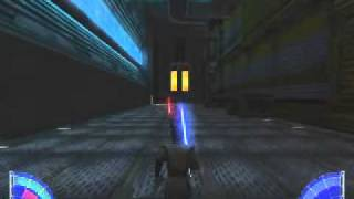 Repeat youtube video The Mutant Rancor Level: Walkthrough- Star Wars Jedi Academy
