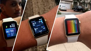 Apple Watch Series 1 38mm - DAY IN THE LIFE