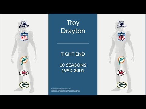 Troy Drayton: Football Tight End