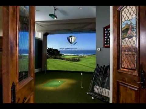 High Definition Golf Indoor Golf Simulator Pga Show 2009