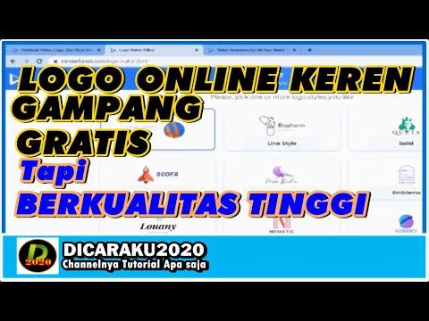 BUAT LOGO GRATIS DI ANDROID | COCOK UNTUK CHANNEL ATAUPUN ONLINE SHOP KAMU NIH!!!.